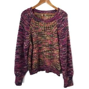 ANTHROPOLOGIE MULTICOLORED  SWEATER
